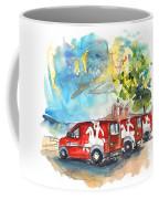 Miranda Do Douro Post Cars Coffee Mug
