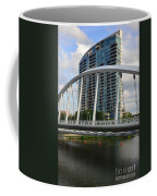Fx1l820 Main Street Bridge In Front Of Miranova Coffee Mug