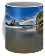 Mirror In The Sand Coffee Mug