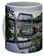 Mirrored Bridges Coffee Mug
