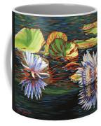 Mirrored Lilies Coffee Mug