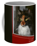 Miss Gizzie Waits By Diana Sainz Coffee Mug