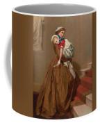 Miss Lilys Return From The Ball, 1866 Coffee Mug