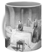 Miss Nightingale In The Hospital Coffee Mug