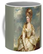 Miss Sarah Campbell Coffee Mug by Sir Joshua Reynolds