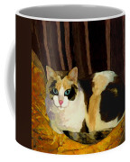 Miss Tillie On A Pillow Bright Coffee Mug