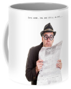 Miss You In The Funny Papers Coffee Mug