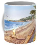 Mission Beach San Diego Coffee Mug by Mary Helmreich