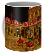 Mission Inn Christmas Chapel Courtyard Coffee Mug