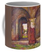 Mission Of San Juan Capistrano By Rowena Meeks Abdy 1887-1945  Coffee Mug