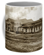 Mission San Francisco De Asis Mission Dolores And Mission House Calif. 1880 Coffee Mug