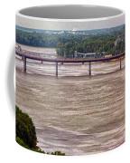 Mississippi River At I-72 Coffee Mug