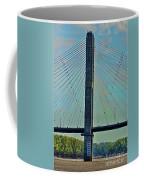 Mississippi River Bridge At Cape Girardeau Mo  Coffee Mug