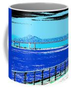 Mississippi River Bridge Poster Coffee Mug