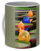 Missouri Botanical Garden Six Glass Spheres And Lilly Pads Img 5490 Coffee Mug