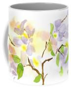 Missouri Dogwood In Watercolor Coffee Mug