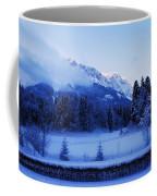 Mist Over Alps Coffee Mug