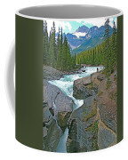 Mistaya Canyon Along Icefield Parkway In Alberta Coffee Mug