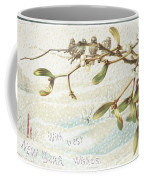 Mistletoe In The Snow Coffee Mug by English School