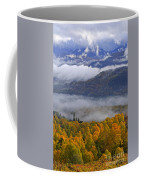 Misty Day In The Cairngorms Coffee Mug