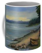 Misty October Puget Sound Coffee Mug