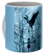 Misty Egret Coffee Mug