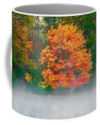Misty Fall Tree Coffee Mug