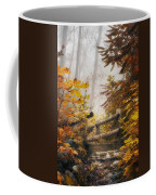 Misty Footbridge Coffee Mug