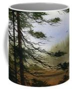 Misty Forest Bay Coffee Mug by James Williamson