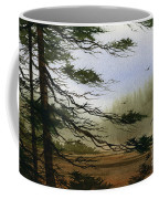 Misty Forest Bay Coffee Mug