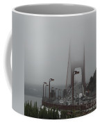 Golden Gate In The Clouds Coffee Mug