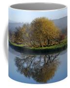 Misty Golden Sunrise Reflection Coffee Mug