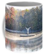 Misty Lake Angel Coffee Mug