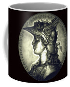 Misty Midnight Black Marianne Coffee Mug