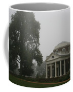 Misty Morning At Monticello Coffee Mug