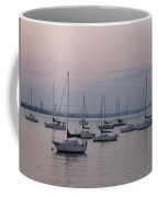 Misty Morning At The Bay Coffee Mug
