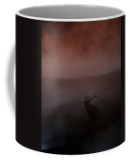 Misty Morning Elk Coffee Mug