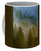 Misty Morning In The Pines Coffee Mug