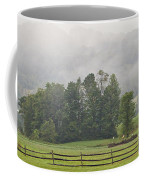 Misty Morning Ride Coffee Mug