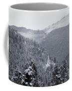 Misty Pikes Peak Coffee Mug