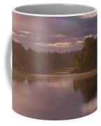 Misty River Reflection Coffee Mug