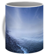 Misty Seaside In The Evening, Mons Coffee Mug by Evgeny Kuklev
