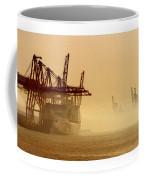 Misty Seattle Waterfront Coffee Mug by Jack Pumphrey