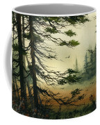 Misty Tideland Forest Coffee Mug by James Williamson