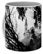 Misty View Of Monserrate Church Coffee Mug