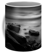 Misty Water Black And White Coffee Mug
