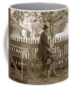 Mitchell Motorcycle Circa 1907 Coffee Mug