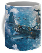 Mitscher's Hunt For The Rising Sun Coffee Mug by Randy Green