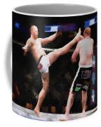 Mixed Martial Arts - A Kick To The Head Coffee Mug