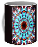 Mixed Media Mandala 1 Coffee Mug